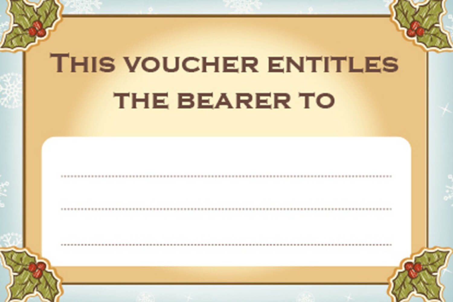 This Certificate Entitles The Bearer Template - Bizoptimizer within This Certificate Entitles The Bearer To Template