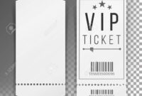 Ticket Template Set Vector. Blank Theater, Cinema, Train, Football.. for Blank Train Ticket Template