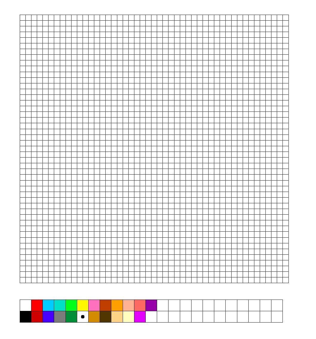 Tnk Hama : Perler Bead Blank Template | Perler Beads, Hama Intended For Blank Perler Bead Template