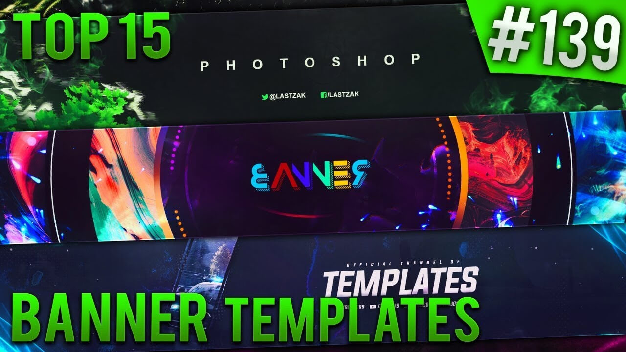 Top 15 Photoshop Banner Templates #139 (Free Download) Throughout Banner Template For Photoshop
