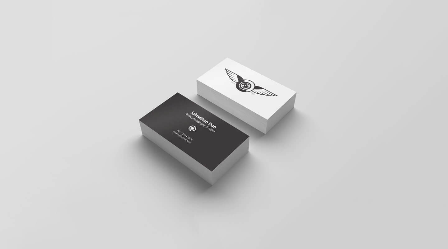 Top 26 Free Business Card Psd Mockup Templates In 2019 inside Name Card Photoshop Template