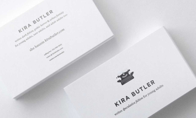 Top 32 Best Business Card Designs & Templates intended for Business Card Maker Template