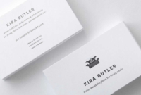 Top 32 Best Business Card Designs & Templates within Designer Visiting Cards Templates