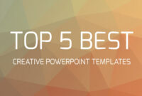 Top 5 Best Creative Powerpoint Templates inside Fancy Powerpoint Templates
