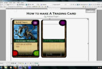 Trading Card Template Word | Template Business with regard to Baseball Card Template Word