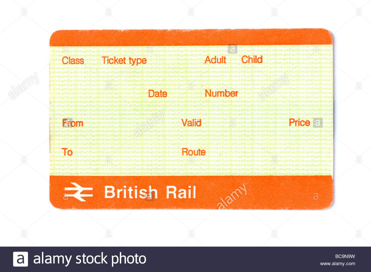Train Ticket Blank Stock Photos & Train Ticket Blank Stock In Blank Train Ticket Template