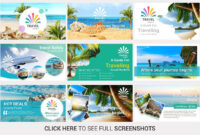 Travel Agency Powerpoint Templateslidesalad On intended for Tourism Powerpoint Template