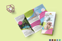 Travel And Tour Brochure Template inside Word Travel Brochure Template