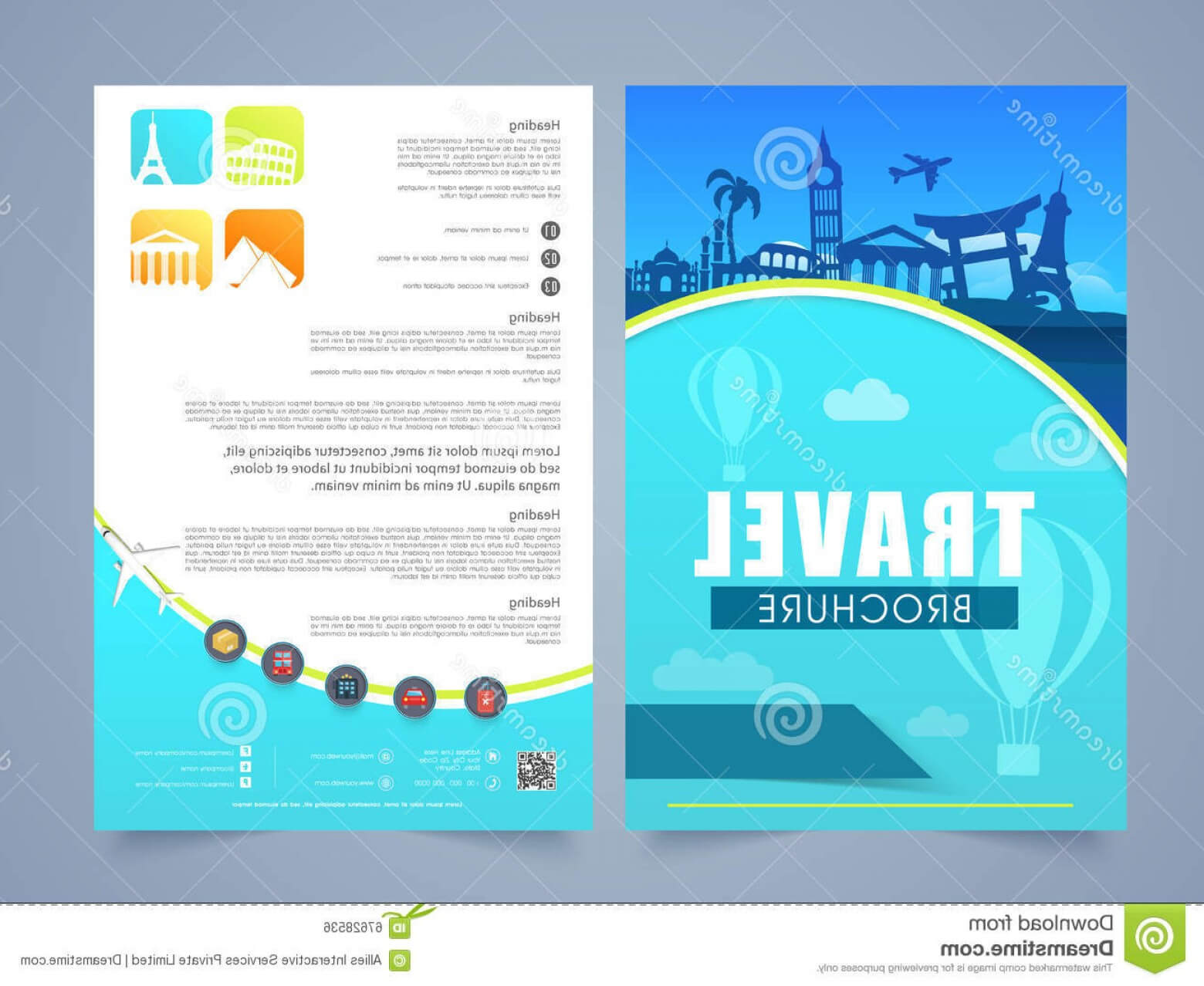Travel And Tourism Brochure Templates Free | Soidergi With Travel And Tourism Brochure Templates Free