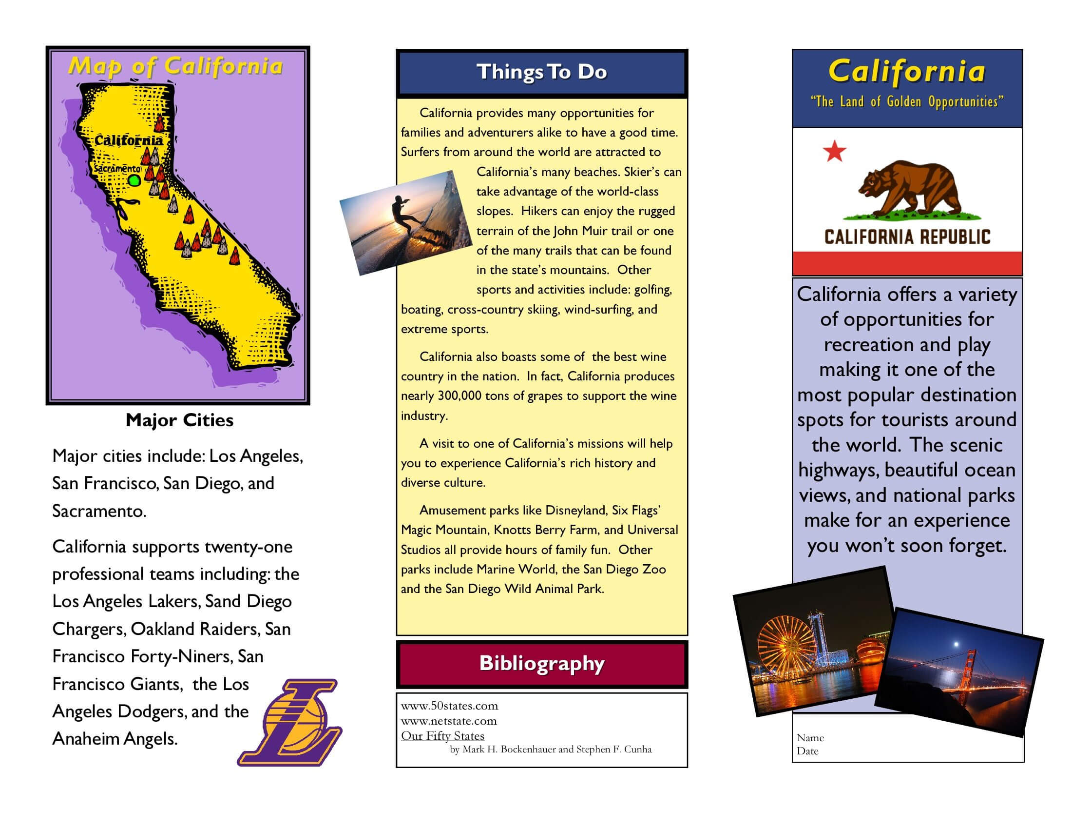 Travel Brochure Examples For Students | Theveliger within Zoo Brochure Template