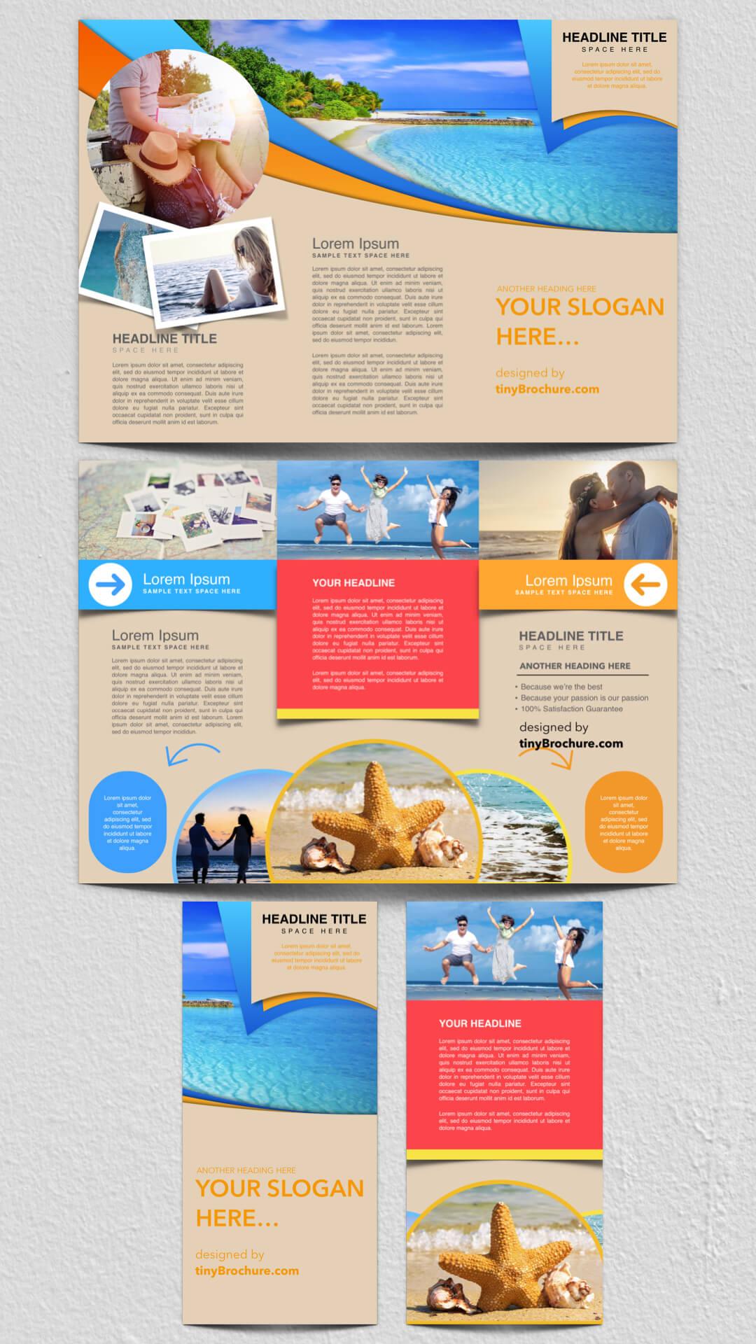 Travel Brochure Template Google Docs | Travel Brochure Inside Google Docs Travel Brochure Template