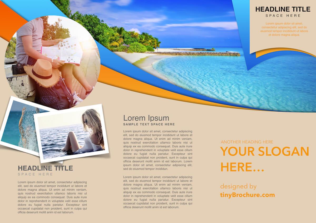 Travel Brochure Template Google Slides Throughout Google Docs Travel Brochure Template
