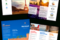 Travel Brochure Templates – Make A Travel Brochure – Venngage In Travel Brochure Template For Students
