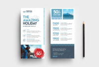 Travel Company Dl Card Template In Psd, Ai & Vector – Brandpacks Inside Dl Card Template