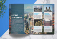 Travel Guide | Template 4 Print throughout Travel Guide Brochure Template