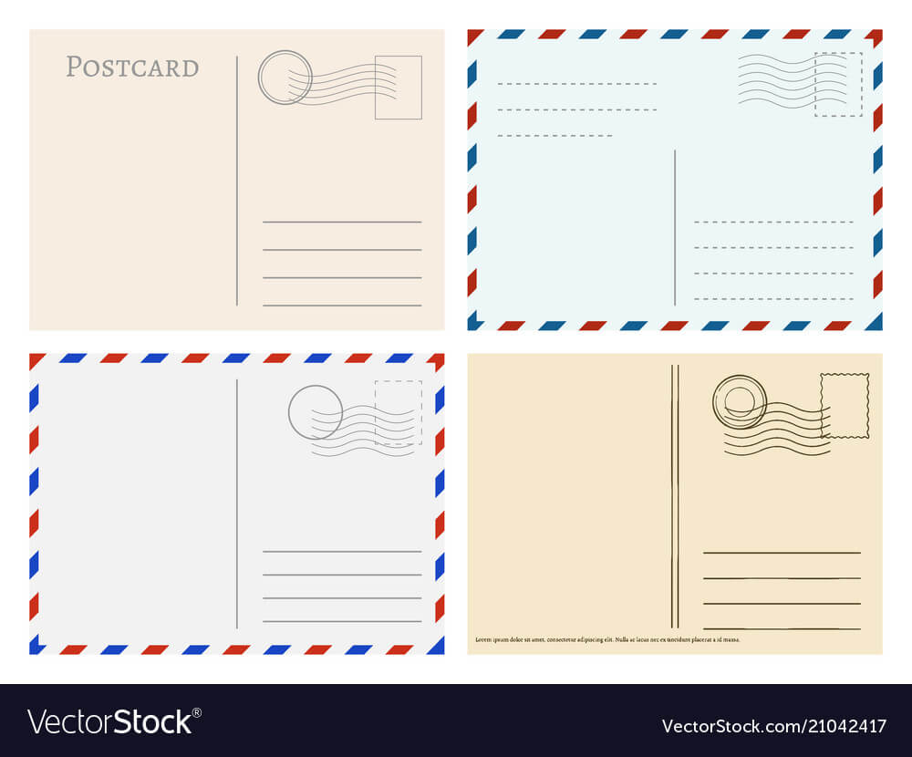 Travel Postcard Templates Greetings Post Cards Regarding Post Cards Template