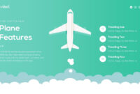 Travient Hotel & Travel Agency Powerpoint Template | Travel inside Tourism Powerpoint Template