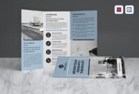 Tri Fold Brochure A4 Indesign Template #1517 within Tri Fold Brochure Template Indesign Free Download