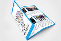 Tri Fold Brochure Design Layout | Adobe Illustrator (#speedart) With Regard To Brochure Templates Adobe Illustrator