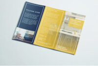 Tri Fold Brochure | Free Indesign Template inside Adobe Tri Fold Brochure Template