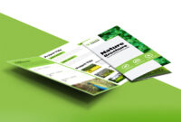 Tri Fold Brochure Template A4 Free #1502 for Free Three Fold Brochure Template