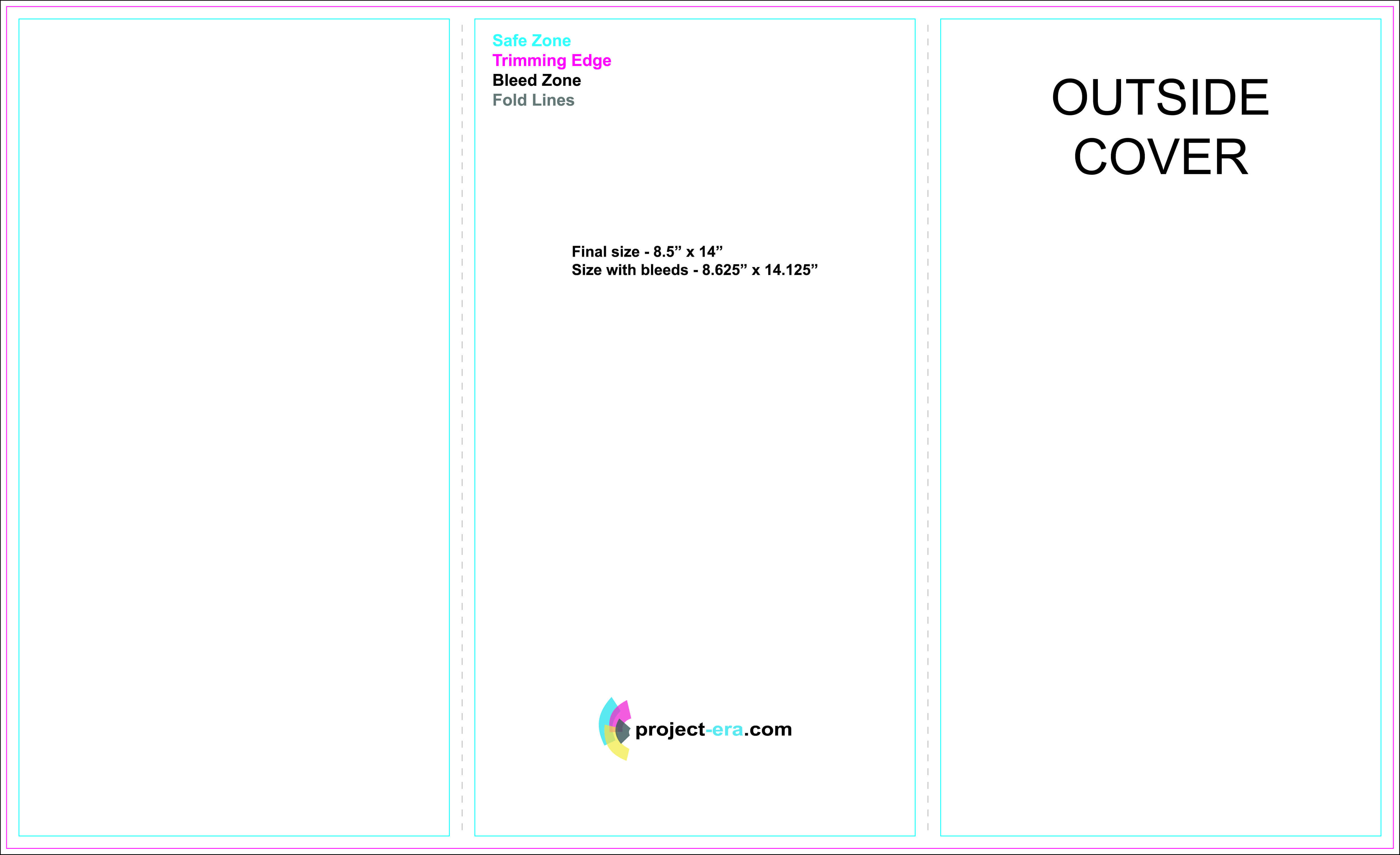 Tri Fold Brochure Template Illustrator