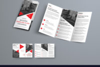 Tri-Fold Brochure Template In Modern Style With in Product Brochure Template Free