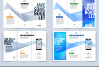 Tri-Fold Brochure Template Layout, Cover Design, Flyer In A4 for Engineering Brochure Templates