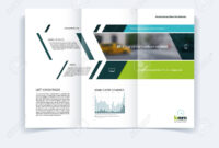 Tri-Fold Brochure Template Layout, Cover Design, Flyer In A4.. inside Engineering Brochure Templates