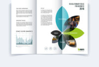 Tri-Fold Brochure Template Layout Cover Design with Engineering Brochure Templates
