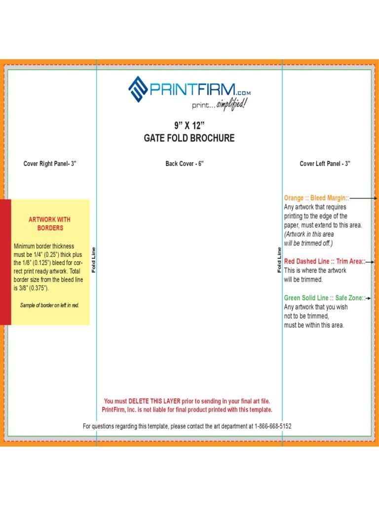 Tri Fold Templates Indesign Zrom Tk Gatefold - Carlynstudio with Gate Fold Brochure Template Indesign