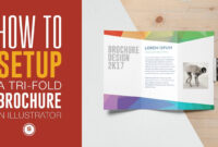 Trifold Brochure For Print In Illustrator – Illustrator Tutorial intended for Tri Fold Brochure Ai Template