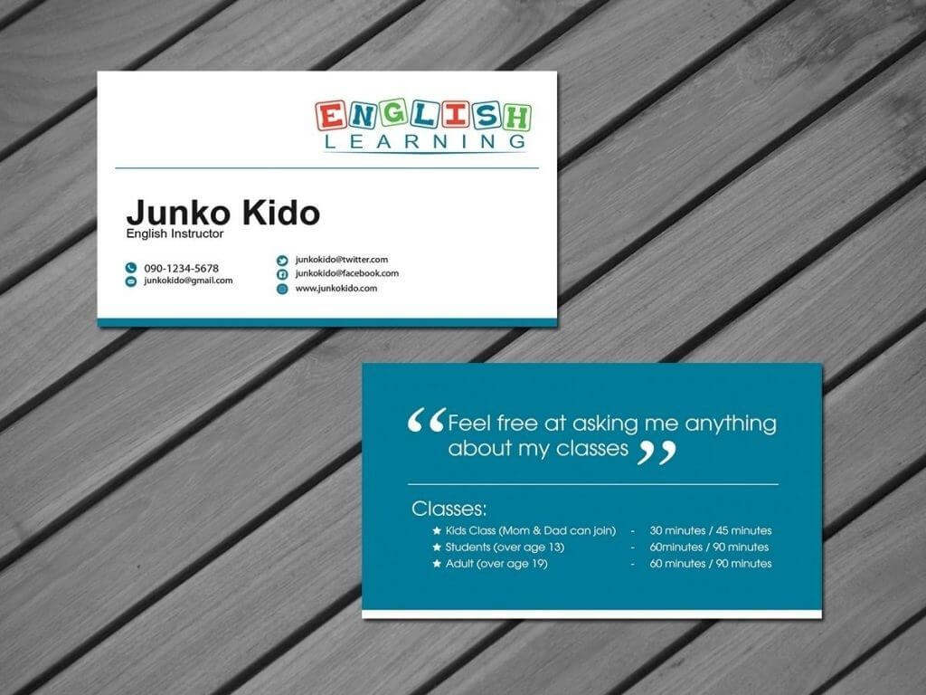 Tutor Business Cards For Teachers Templates Free| Pozycjoner Regarding Business Cards For Teachers Templates Free