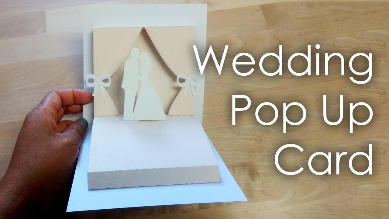 [Tutorial + Template] Diy Wedding Project Pop Up Card for Pop Up Wedding Card Template Free