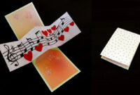 Twist And Pop Music Card – Pop Up Cardtemplate – Ezycraft pertaining to Twisting Hearts Pop Up Card Template