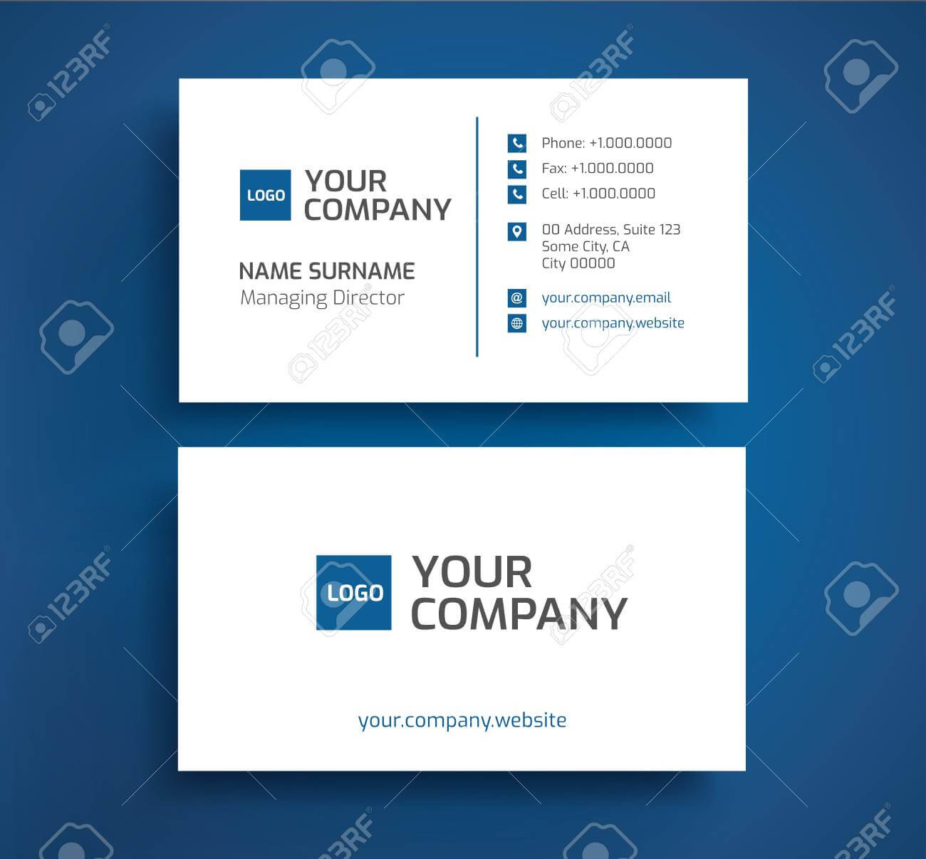 Two Piece Business Card Holder Sided Cards Staples 2 regarding Staples Business Card Template