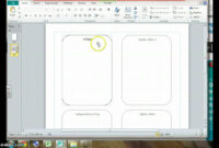 Using Mail Merge To Create Top Trump Cards in Top Trump Card Template