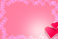 Valentine Backgrounds For Powerpoint – Border And Frame Ppt Intended For Valentine Powerpoint Templates Free