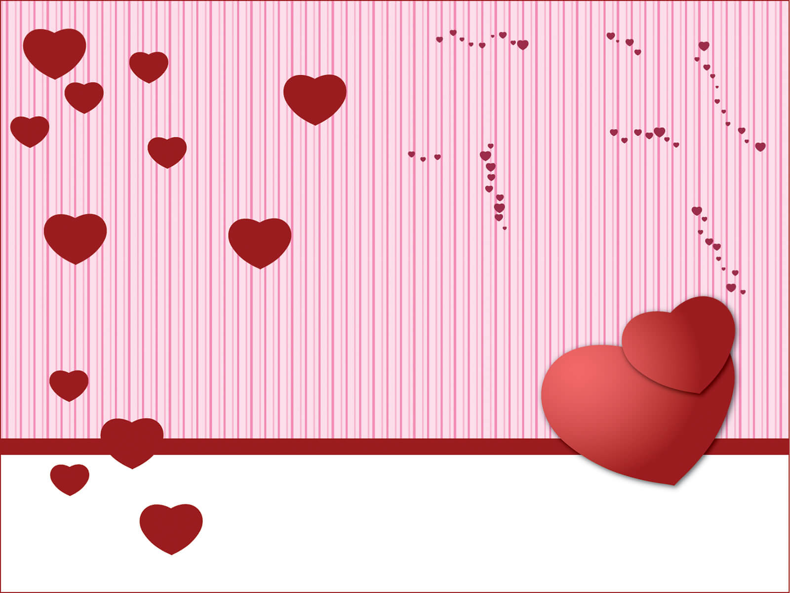 Valentine Powerpoint - Free Ppt Backgrounds And Templates pertaining to Valentine Powerpoint Templates Free