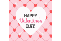 Valentine's Day Card Template – 5 Free Templates In Pdf in Valentine Card Template Word