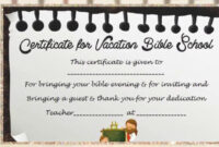Vbs Certificate Template With Regard To Free Vbs Certificate regarding Free Vbs Certificate Templates