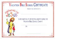 Vbs Certificate Templatesencephalos | Encephalos intended for Christian Certificate Template