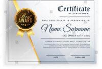 Vector Certificate Template Beautiful Certificate Template In Beautiful Certificate Templates