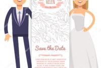 Vector Wedding Banner Template. Decorative Flyer With Bride throughout Bride To Be Banner Template