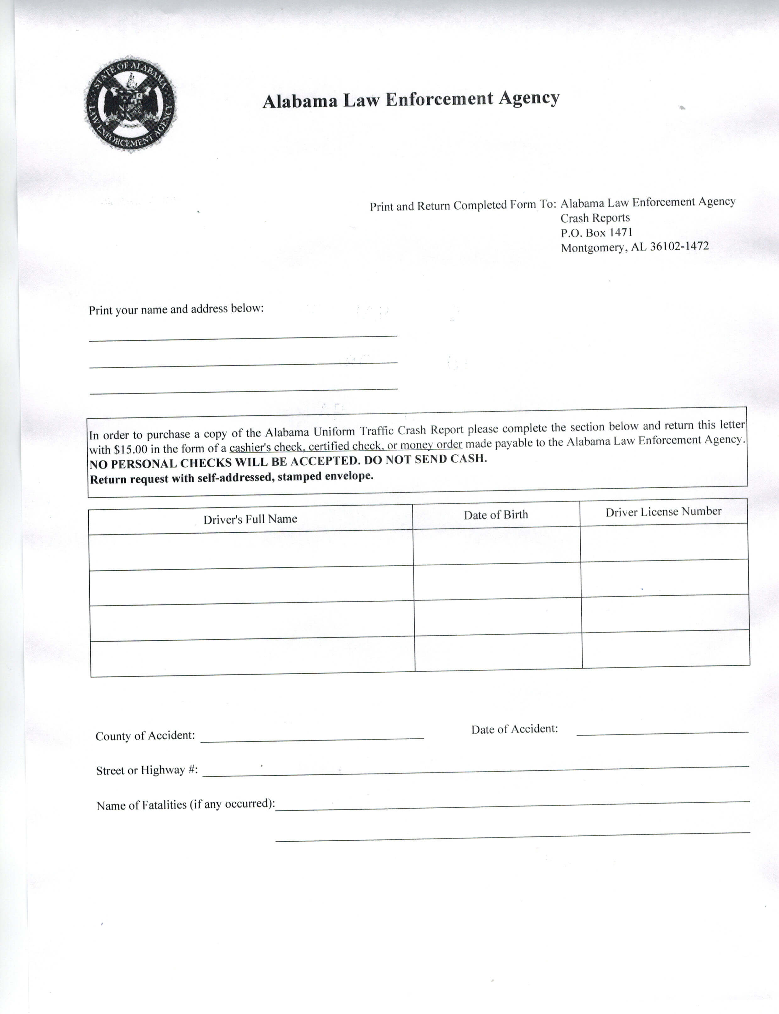 Vehicle Accident Report Format Car Sample Pdf Free Form regarding Vehicle Accident Report Template