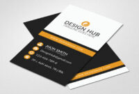 Vertical Business Card Template – Vsual within Buisness Card Templates