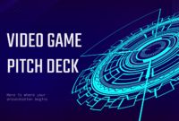Video Game Pitch Deck – Free Presentation Template For in Powerpoint Template Games For Education