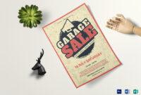 Vintage Garage Sale Flyer Template with regard to Garage Sale Flyer Template Word