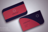 Visiting Card Design Illustrator Free Download Business throughout Visiting Card Illustrator Templates Download