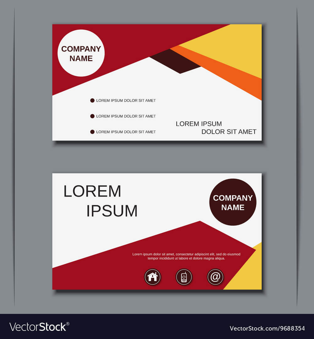 Visiting Card Design Template Pertaining To Designer Visiting Cards Templates